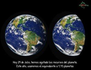 Sobrecapacidad tierra 2019