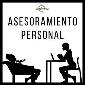 Dos mujeres hablando con la frase asesoramiento personal