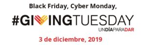 Giving tuesday, un día para dar