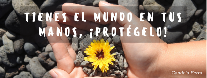 El mundo está en tus manos, protegelo