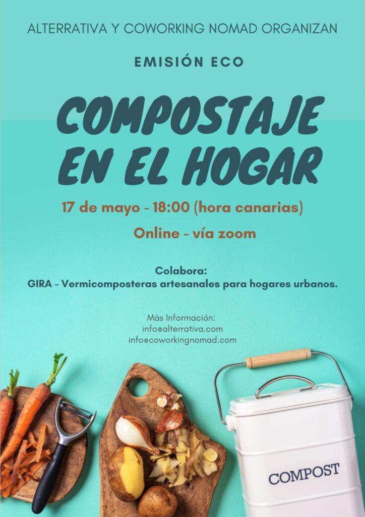 Emisión Eco, compostaje en el hogar